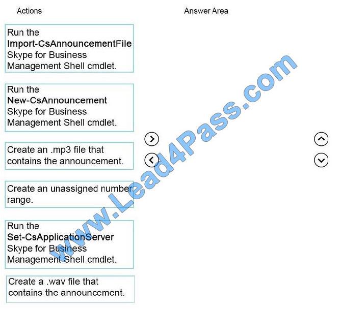 lead4pass 70-333 exam question q12