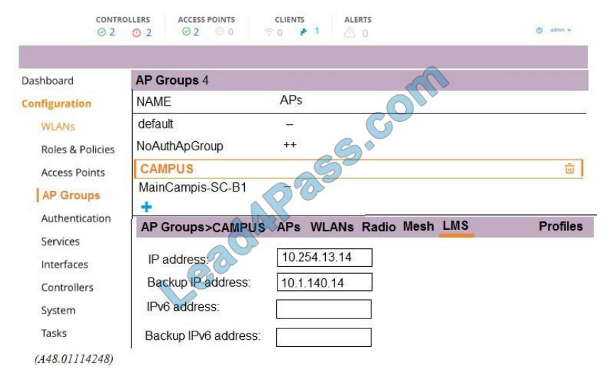 hp hpe6-a48 exam questions q4-1