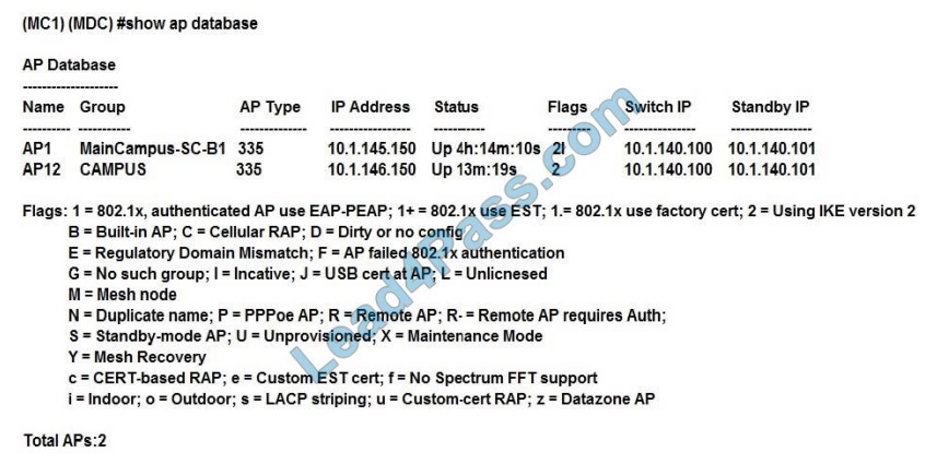 hp hpe6-a48 exam questions q9